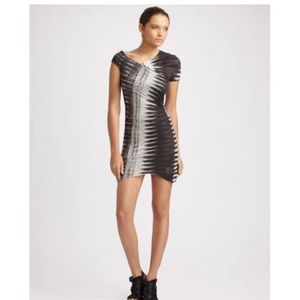 Helmut Lang Frequency print dress